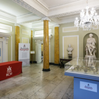 RCSI 'Surgeons and Insurgents' exhibition floor.