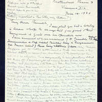 Correspondence from Dickson to Russell